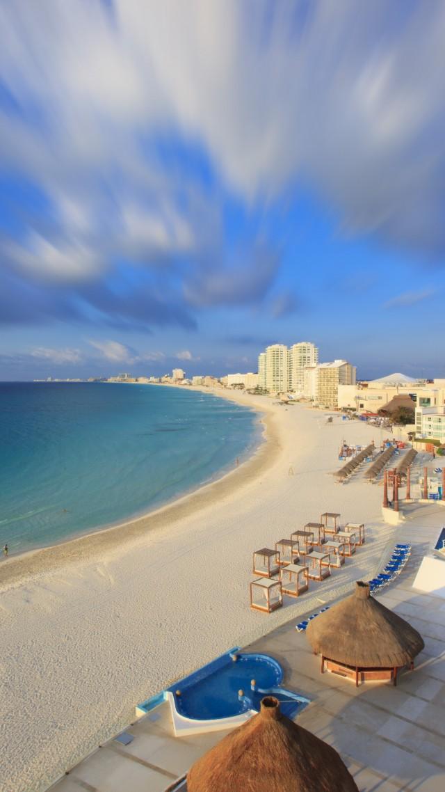 Cancun Cover - Tall Beach View